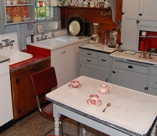 Kitchen with Storied Table