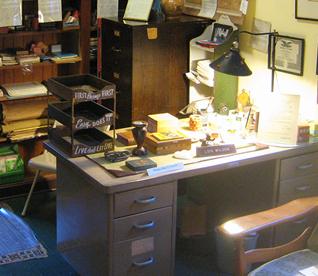 Lois' Desk in Gallery