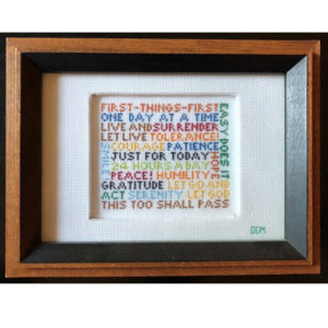 First-Things Cross Stitch