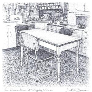 Kitchen Table Print